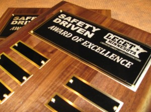 Safety Driven Award